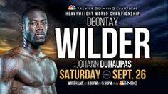 Can Deontay Wilder Knock out Johann Duhaupas? http://www.potshotboxing.com/?p=7029
