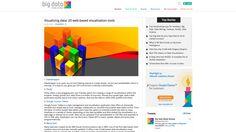 Visualizing data: 20 web-based visualisation tools « Big Data Made Simple