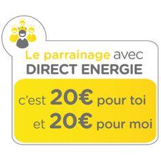 24/03 Profitons de l'offre de parrainage Direct Energie !