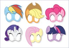 My Little Pony Photo Booth Props Printable My Little Pony
