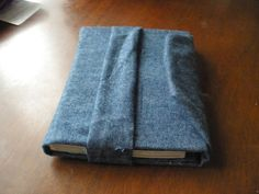 Protect a textbook with an old pair of jeans. | 31 Easy DIY Projects You Won't Believe Are No-Sew