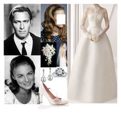 """""""The Devlin's Wedding Flashback #5: The wedding of Christopher Devlin and Elaine Grimes"""" by duchess-rebecca ❤ liked on Polyvore featuring J.Crew and Kobelli"""