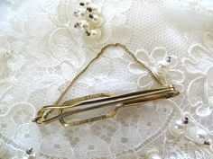 Tie Bar Marked Imitation Made in England by ElviesAdornments on Etsy Old Ties, Handsome Man, Man Stuff, England, Charmed, Bar, Chain, How To Make, Etsy