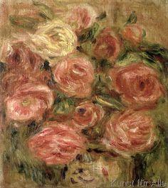 Pierre Auguste Renoir - Flowers, 1913-19