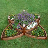Scenery Solutions PVS-CIR2 Versailles Sunburst Garden Edging