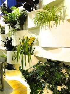 Interior Trends From Milan Included Vertical #Gardens #blogtourmilan