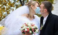 A germ free wedding....emerging trend?