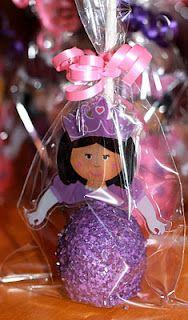 princess cake pop - adorable!