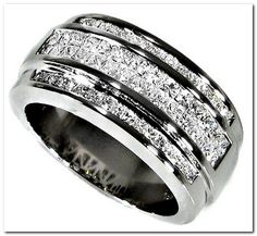 Choosing men's diamond wedding band is not as easy as it sounds. You need to get it just right in quality, color, size and match his style. The type of rin