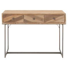 DecMode Rectangle Console Table   from hayneedle.com