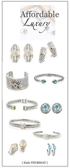 Similar to Yurman, but oh-so-much more affordable. Ends THURSDAY