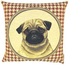 PUG TAPESTRY CUSHION