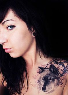 fox clavicle tattoo - 35 Cute Clavicle Tattoos for Women