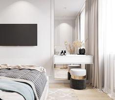 Blue Master Bedroom, Master Bedroom Interior, Modern Bedroom, Bedroom Decor, Luxury Homes Interior, Interior Design, Wardrobe Design Bedroom, House Design, Bedrooms