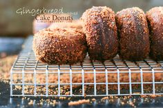gingerbread donuts-3