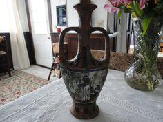Cucchi Italian Art Pottery Wine Vessel Earth by TammysFindings