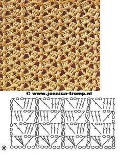 Diy Crafts - Diy Crafts - Crochet divino Crochet added a new photo. Filet Crochet, Beau Crochet, Hexagon Crochet Pattern, Crochet Diagram, Crochet Stitches Chart, Crochet Motifs, Doilies Crochet, Knitting Patterns, Crochet Patterns