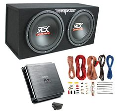 """MTX 12"""" 1200W Dual Loaded Car Audio Subwoofers with Box Enclosure Package - http://www.caraccessoriesonlinemarket.com/mtx-12-1200w-dual-loaded-car-audio-subwoofers-with-box-enclosure-package/  #1200W, #AUDIO, #Dual, #Enclosure, #Loaded, #Package, #Subwoofers #Car-Subwoofers, #Electronics"""