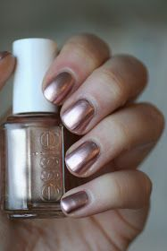 Essie Envy: Essie Mirror Metallics Collection : Penny Talk, Good As Gold, No Place Like Chrome & Blue Rhapsody
