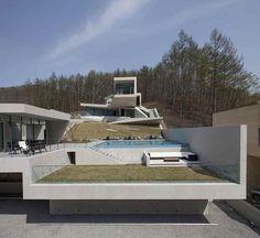 Современный бетонный  дом Retreat U от IDMM architects