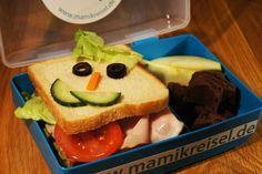 Kreative & leckere Pausenbrote auf www.mamikreisel.de