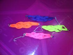 Pulseras nudo marinero colores neon
