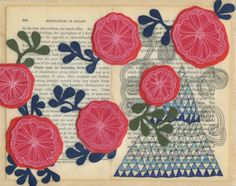 Stitch and Tickle: Glimpses of Spring: Jennifer Judd-McGee