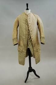 Image result for 1760's frock coat