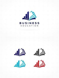 Business Education Logo. Human Icons. $15.00