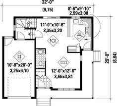 Narrow Lot Country Home Plan - 80246PM | 2nd Floor Master Suite, CAD Available, Canadian, Cottage, Country, Metric, PDF, Photo Gallery | Architectural Designs
