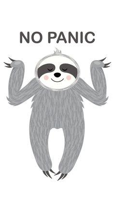 Cute Baby Sloths, Cute Sloth, Cute Baby Animals, Animals Watercolor, My Spirit Animal, Cute Wallpapers, Iphone Wallpaper, Funny Pictures, Artsy