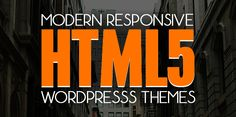 Responsive HTML5 WordPress Themes