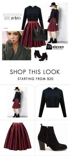 """Eleven"" by alien-official ❤ liked on Polyvore featuring Nly Shoes, women's clothing, women's fashion, women, female, woman, misses, juniors and hielevencom"
