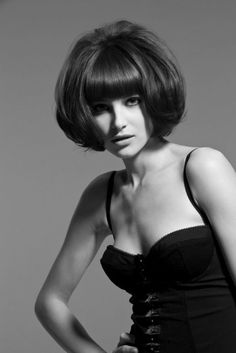 The bob gives a softer and sexier look to any woman while also being easy-to-wear and flexible style for short hair. Another cutting edge 60s hairstyle ...