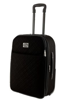 Rolling Luggage makes for easy airport travel, plus it's expandable (for any shopping I might do!)
