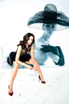 Victoria Beckham by Ellen von Unwerth for Vogue Turkey August 2010