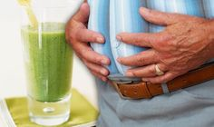 STOMACH bloating may be caused by eating certain foods in your diet, or by eating too fast, or too much in one go. But you could prevent trapped wind pain and tummy aches by drinking this juice every day. Stomach Bloating, Celery Juice Image, Trapped Wind, How To Avoid Bloating, Signs Of Ovarian Cancer, Good Gut Bacteria, Drinking Every Day
