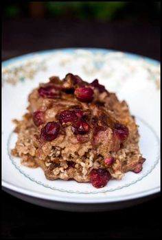 Clean Eating Pumpkin Oatmeal Casserole (Click Pic for Recipe) I completely swear by CLEAN eating!!  To INSANITY and back....  One Girls Journey to Fitness, Health, & Self Discovery.... http://mmorris.webs.com/
