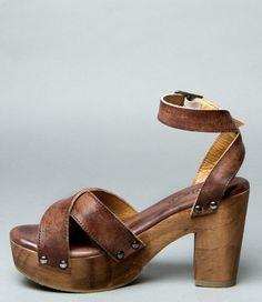 KALAH TEAK DRIFTWOOD - Heels & Wedges - Women BED|STU