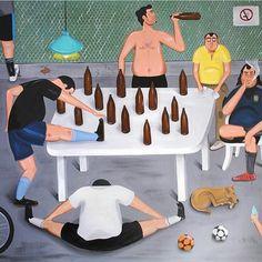 Futebol de fim de semana.