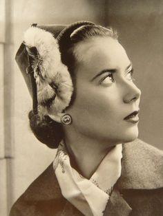 Vintage hat 1950's