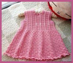 Платье с короткими рукавами для девочки