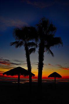 Sunrise in San Felipe, Mexico