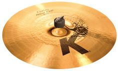 Zildjian K Custom 17-Inch Hybrid Crash Cymbal by Zildjian. $289.95. Traditional Finish Outer Half, Brilliant Finish Inner Half