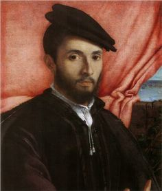 Portrait of a young man - Lorenzo Lotto - 1526 @ Gemaldegalerie, Berlin, Germany