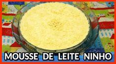 MOUSSE DE LEITE EM PÓ (LEITE NINHO)