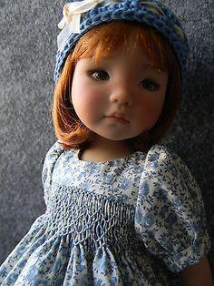 Sweet-Smocked-Dress-for-Effner-Little-Darling-doll-by-lkb. Sold 2/16/14 for $59.99