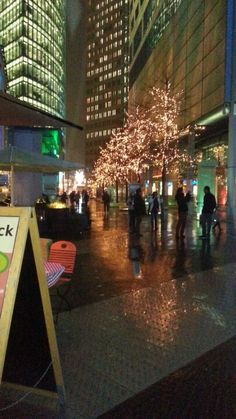 evening at the Sony centre