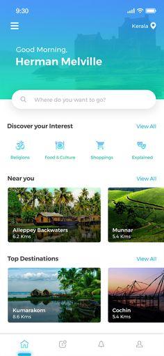 Traveler App - Uplabs