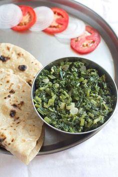 mooli ki bhurji recipe - punjabi mooli bhurji or mooli ki sabzi. when i first had this mooli bhurji, i was like wow. the pungency of the mooli, the spiciness of the chilies, the mustard oil & ajwain flavors.so many tastes coming together in one dish. Indian Veg Recipes, Paneer Recipes, Gujarati Recipes, Vegetarian Recipes, Healthy Recipes, Punjabi Recipes, Gujarati Food, Vegetable Recipes, Bhurji Recipe